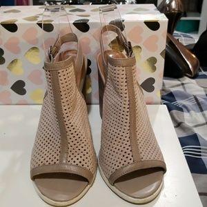 Kelsi Dagger open toe  open back sandal